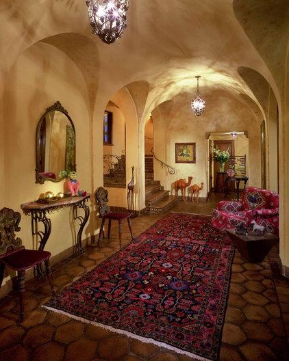 Mediterranean Entry by Jan Gunn Interior Architecture and Design