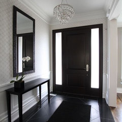 contemporary entry by Jodie Rosen Design