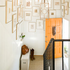 Eclectic Entry by Lauren Liess Interiors