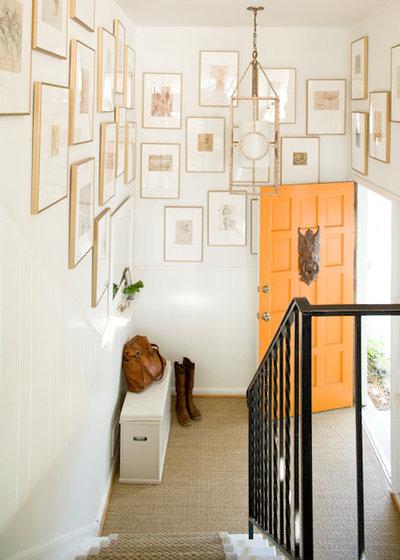 Éclectique Entrée by Lauren Liess Interiors