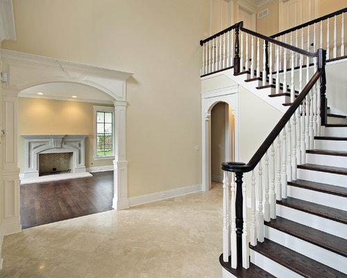 Houzz Foyer Tile : Foyer marble tile houzz