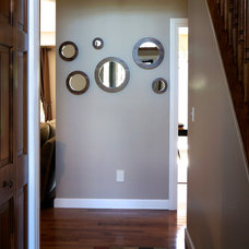 Modern Entry by Musheno Woodworking Company