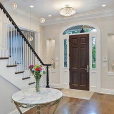 Traditional Entry by Newgard Custom Homes