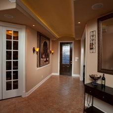 Traditional Entry by Westphall Remodeling
