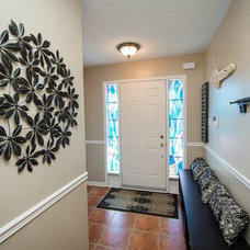 Eclectic Entry by Sunlight Staging & Home Decor