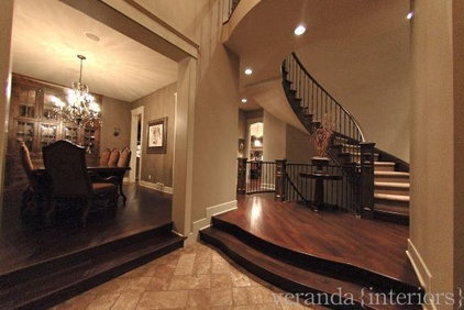 Traditional Entry by Veranda Estate Homes & Interiors