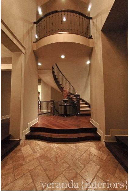 Traditional Entry by Veranda Estate Homes & Interiors