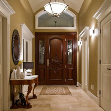 Traditional Entry by Willow Tree Interiors