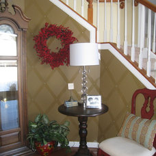Traditional Entry by Your Favorite Room By Cathy Zaeske