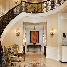 Traditional Entry by Michael Hershenson Architects