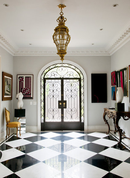 Traditional Entry by Allan Malouf Studio