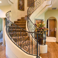 Traditional Entry by Brent Gibson Classic Home Design