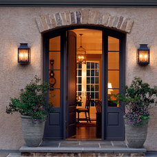 Traditional Entry by Donald Lococo Architects