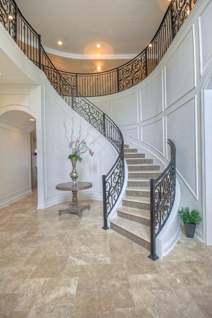 Traditional Entry by Adam Wilson Custom Homes