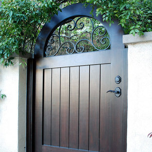 French Entry Gate for a Mediterranean Home in Orange County, CA