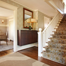 Craftsman Entry by Garrison Hullinger Interior Design Inc.