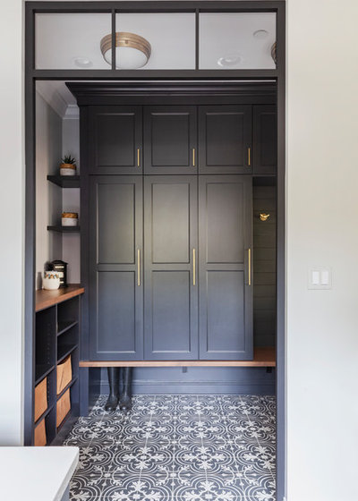 Beach Style Entry by The Kitchen Studio of Glen Ellyn