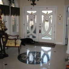 Traditional Entry Front door entry