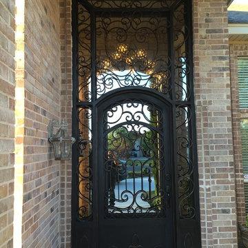 Front Door in Odessa, TX
