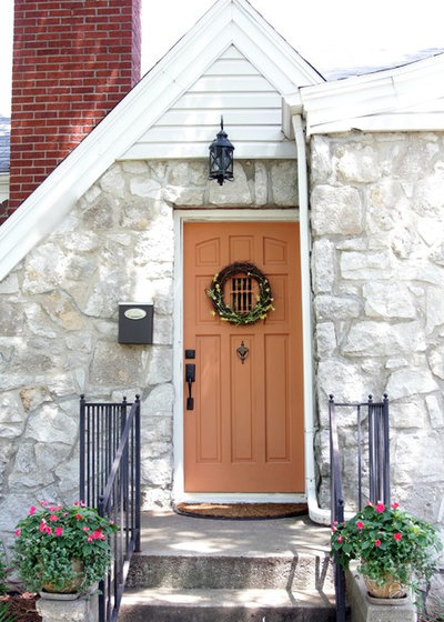 Traditional Entry by The Decor Fix