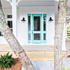 Beach Style Entry by Glenn Layton Homes