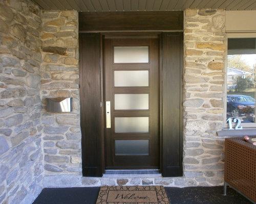 Porte In Legno Moderne : Foto e idee per porte d ingresso porta d ingresso moderna canada