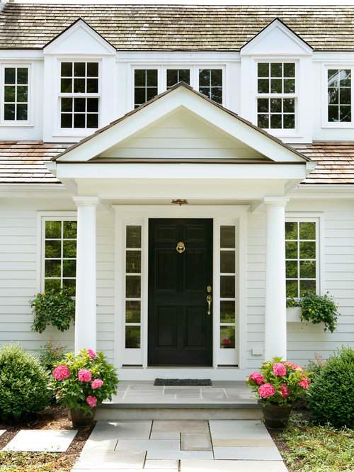 Front Door Portico Houzz