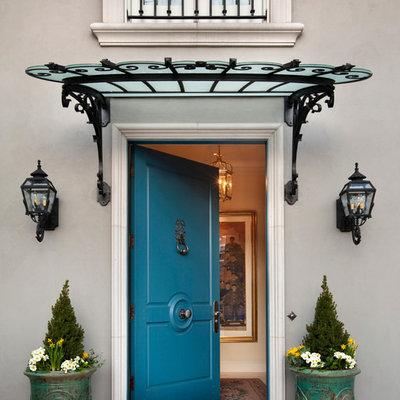 Entryway - large traditional entryway idea in Denver