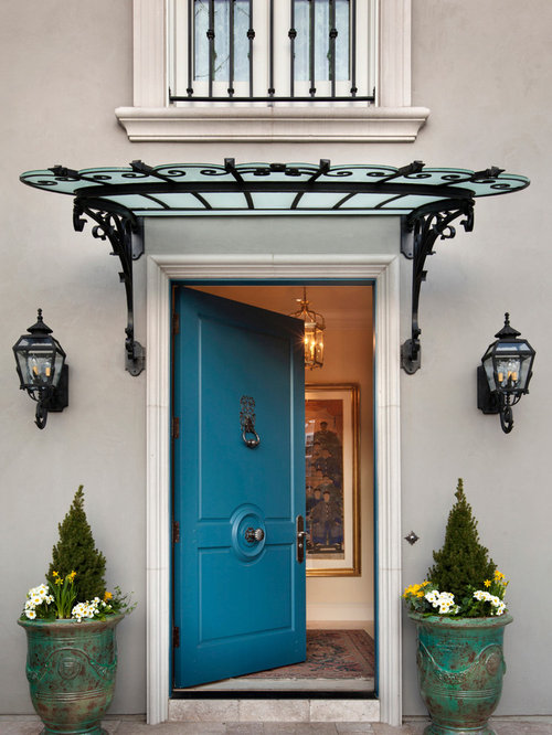 Copper Door Awnings Home Design Ideas Pictures Remodel