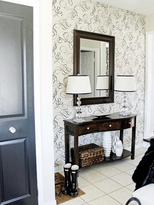 Houzz Foyer Furniture : Entryway table houzz