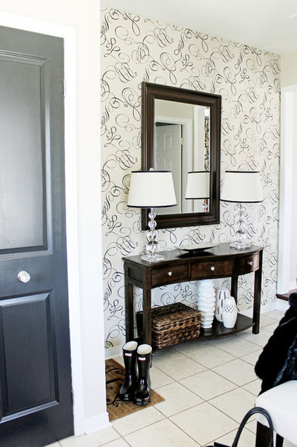 Contemporary Entry by Christina Jeffrey Lifestyle