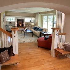 Traditional Entry by DiGiacomo Homes & Renovation