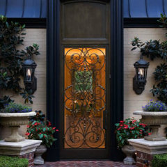 traditional entry by Donna Livingston Design