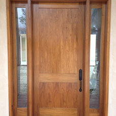 Traditional Entry by McNary Door & Window