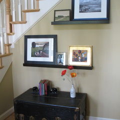 eclectic entry Front Entry Hall
