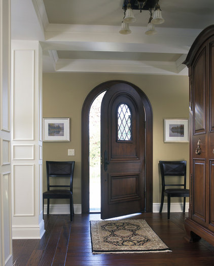 Traditional Entry by Visbeen Architects