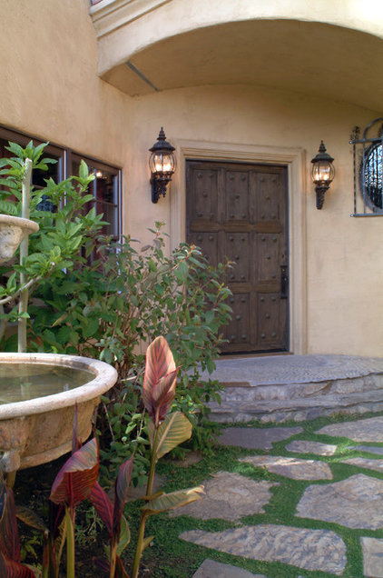 Mediterranean Entry by Nunley Custom Homes