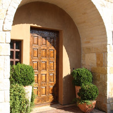 Mediterranean Entry by Rick O'Donnell Architect