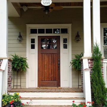 Front Porch Elements of Craftsman Bungalows