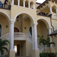 Mediterranean Entry by Las Casitas Architecture and Interiors, LLC