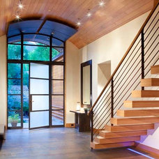 Contemporary Entry by Charles Cunniffe Architects Aspen