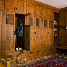 Traditional Entry by The Cabinetry