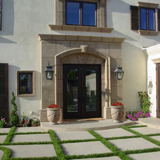 Mediterranean Entry by South Coast Home Builders, Inc.