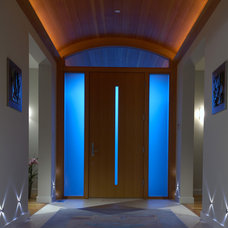 contemporary entry by square three design studios