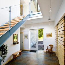 Contemporary Entry by Solares Architecture