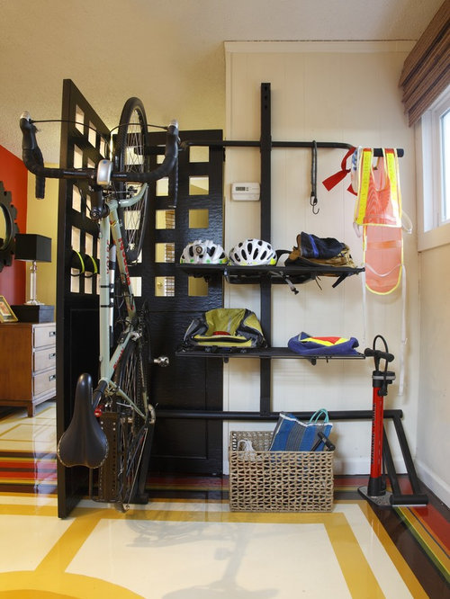 Bike Helmet Storage Houzz