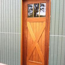 Windows And Doors by Clingerman Doors - Custom Wood Garage Doors