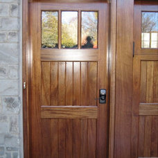 Exterior by Clingerman Doors - Custom Wood Garage Doors