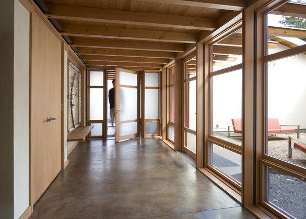 Modern Hall by Balance Associates Architects