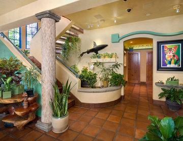 Garden Oasis Entryway